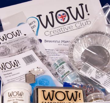 WOW!  Creative Club - Kit 4 (Launched August 2018) - Beautiful Makes
